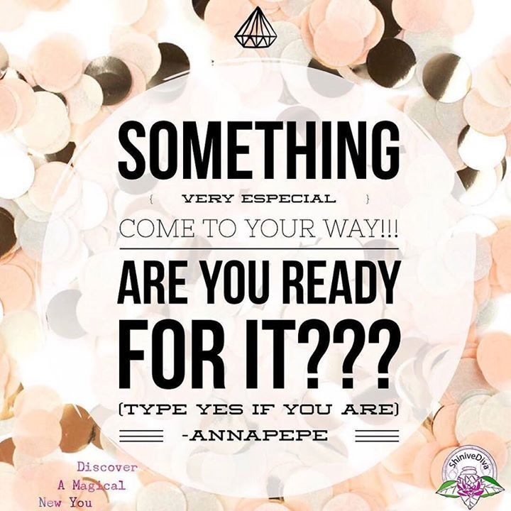 Something very special come to your way!!! Are you ready for it??? (Type yes if you are) #somethingespecial #typeyes #shinivediva https://www.instagram.com/p/BLB_ULwD_Xu/ - facebook.com/rlwonderland