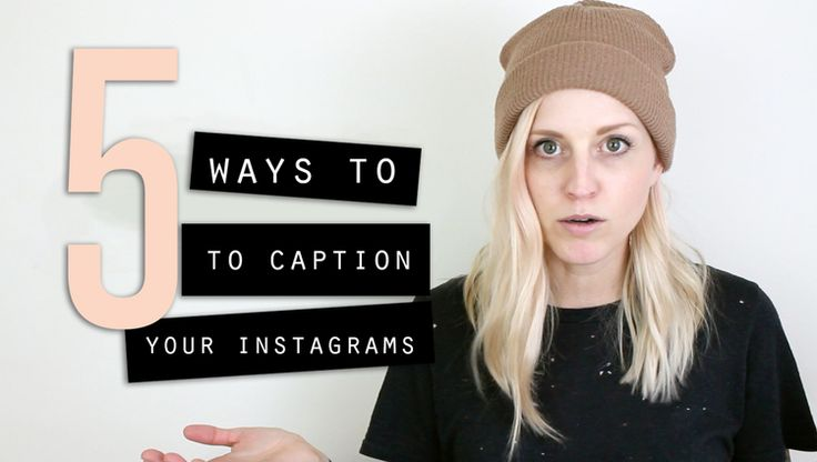How to Write Captions for Instagram | 5 Ways to Create the Perfect Copy — Small Talk Social