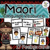 """A Maori Lanage Resource - """"Kei te pehea koe? How are you feeling - these cards make for a great resource to learn to ask and respond in Maori to how are you feeling."""