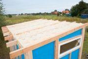 Gartenhaus selber bauen – Bauabschnitt 3: Das Dach - Der krönende Abschluss für das Gartenhaus