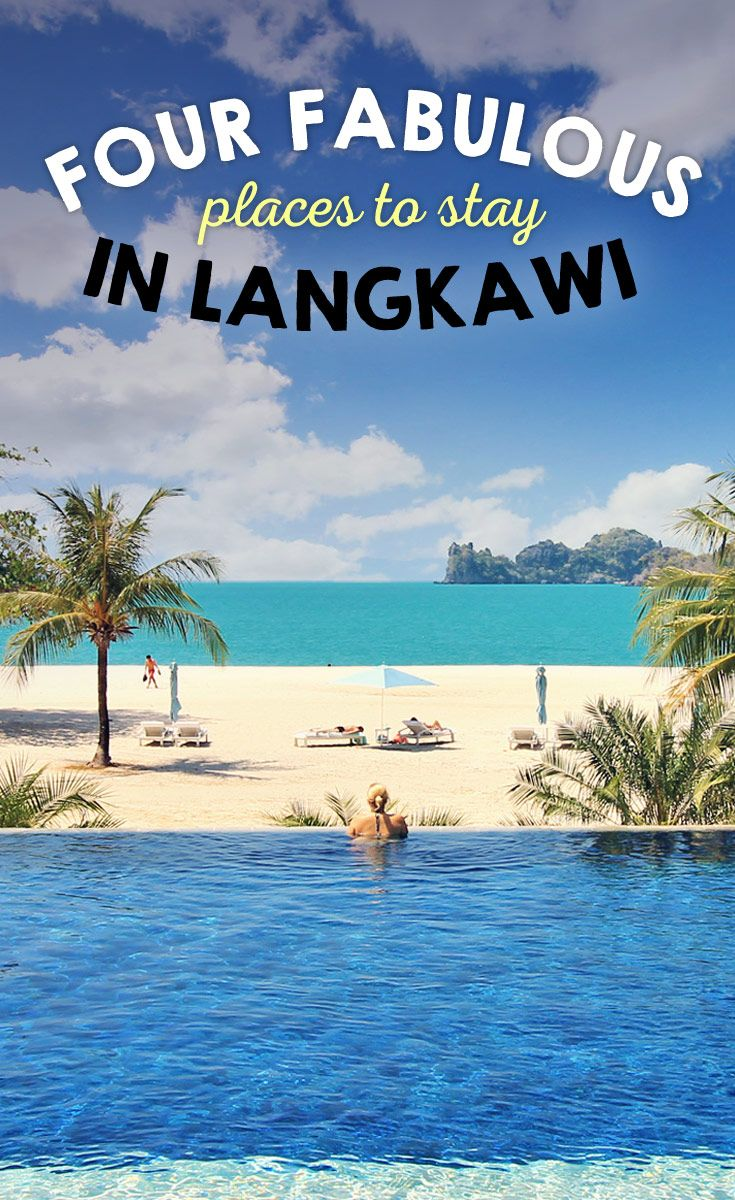Four Fabulous Places To Stay In Langkawi, Malaysia | Are you planning a vacation to Langkawi, Malaysia? Check out these four unique hotels and resorts that will make your stay on the island unforgettable... | via @Just1WayTicket #travel #luxury