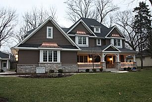 Love Craftsman style homes. Inspiration for when we do the exterior.