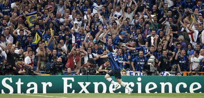 #Inter #supporters #Milito #champions #Heinken