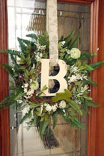 Spring Wreath spring-decor