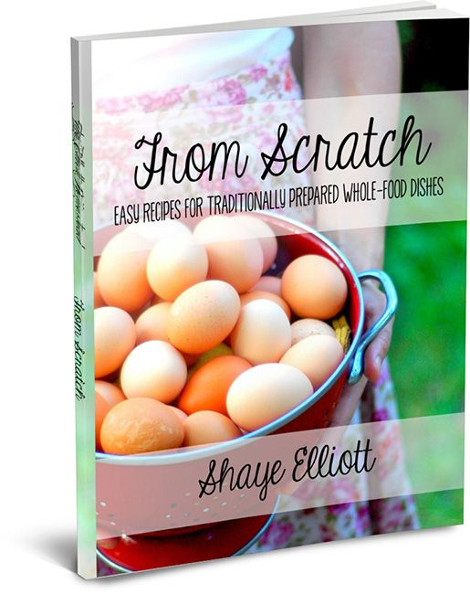 A fantastic resource on learning to cook whole foods, from scratch, for your family | The Elliott Homestead