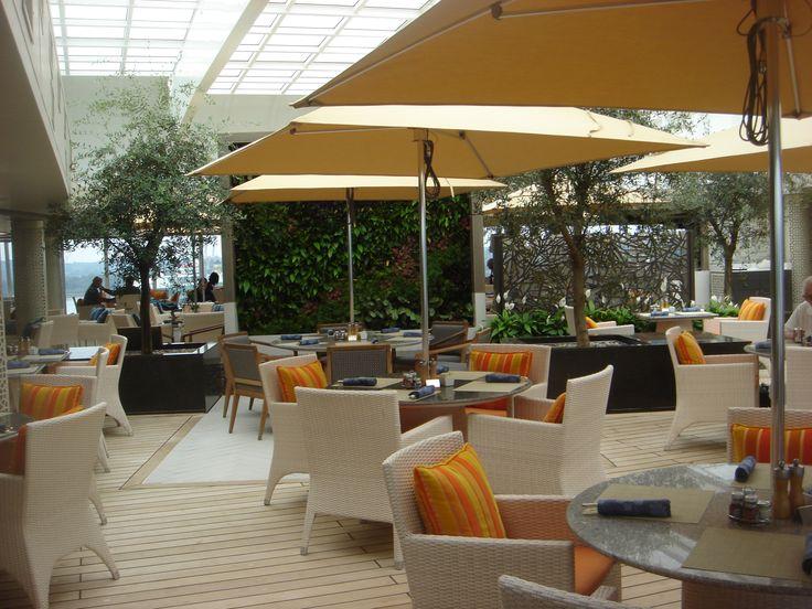Crystal Cruises - Crystal Serenity, Lido Cafe