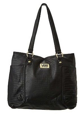 Shopstyle-VANS-OFF-THE-WALL-Westerly-Shoulder-HANDBAG-BAG-BLACK-PURSE-TRAVEL-BAG