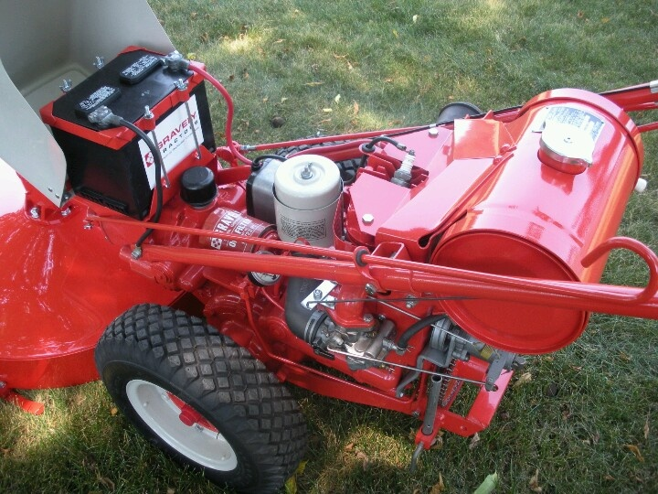 """Stand Behind Lawn Mower >> 1964 Gravely L8 walk behind with 30"""" mower deck. Bought by my dad in the late 70's. Restored by ..."""