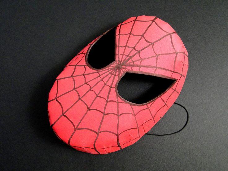 Masca Spider-Man din foaie cauciucata