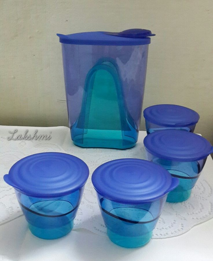 My #ShopQuikr haul:  Tupperware Eleganzia Pitcher & Tumblers @blogadda