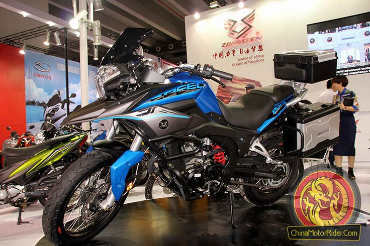 Zongshen 250cc RX3 adventure touring motorcycle