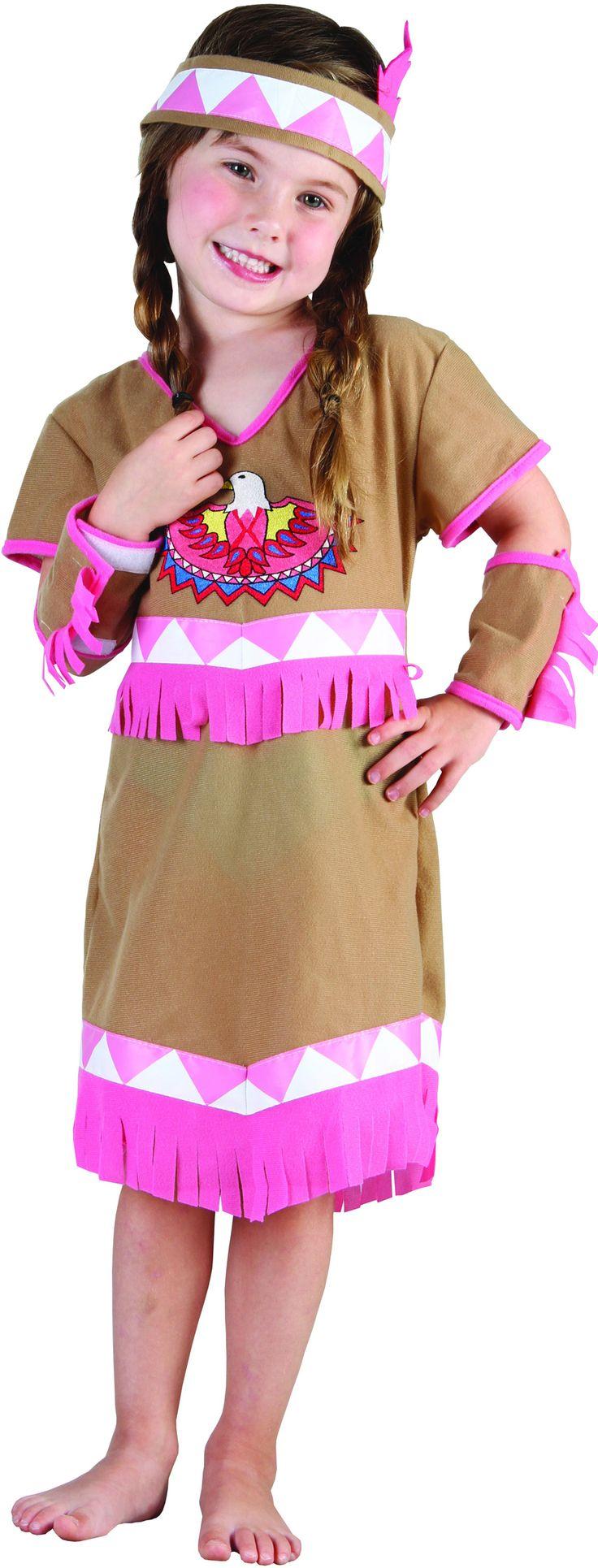 Disfraz de india rosa niña Disponible en: http://www.vegaoo.es/p-222063-disfraz-de-india-rosa-nina.html?type=product