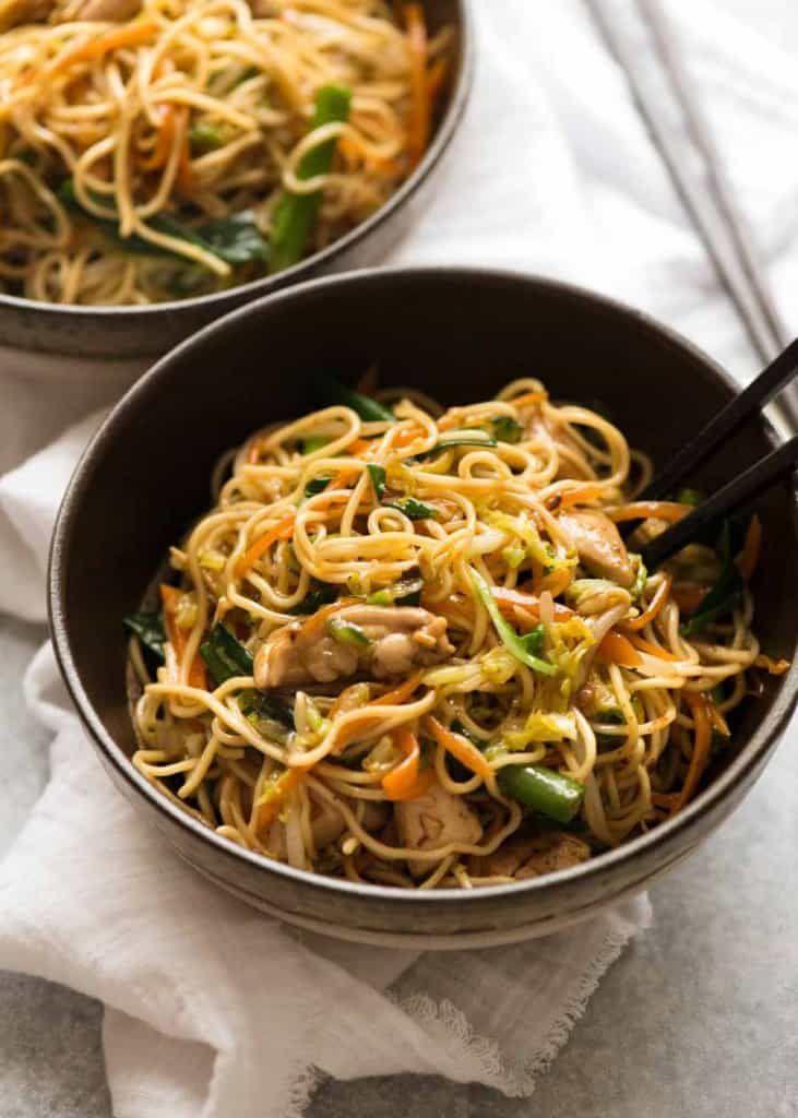 Chicken Chow Mein | Recipe | Dinner Anyone: Winner winner