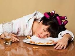 Bahaya tidur setelah makan !