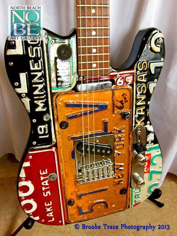 custom guitar on Etsy, $950.00