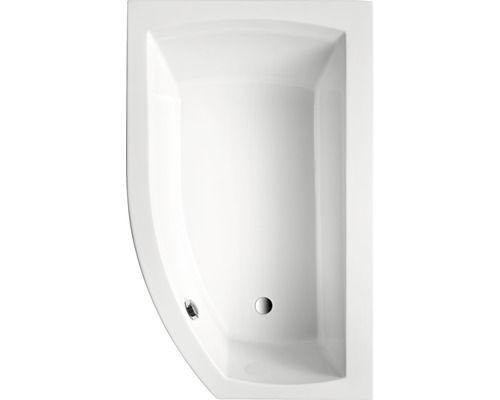 Badewanne Ebony Mod. B 160x98 cm weiß bei HORNBACH kaufen