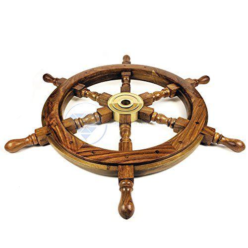 Nautical Handcrafted Wooden Ship Wheel - Home Wall Decor ... https://www.amazon.com/dp/B01DO73U02/ref=cm_sw_r_pi_dp_x_b-dVyb3FDACFX