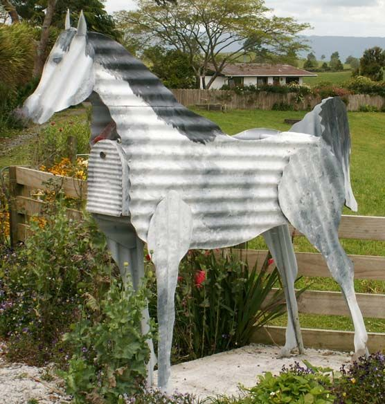 horse letterbox