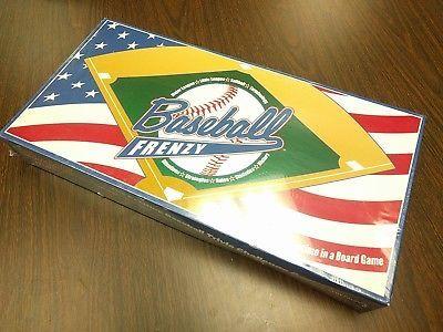 Baseball Frenzy Box Trivia Game Major League Little League Softball