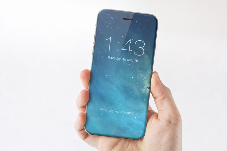 iPhone 7 concept design: Huge display lacks home button | BGR