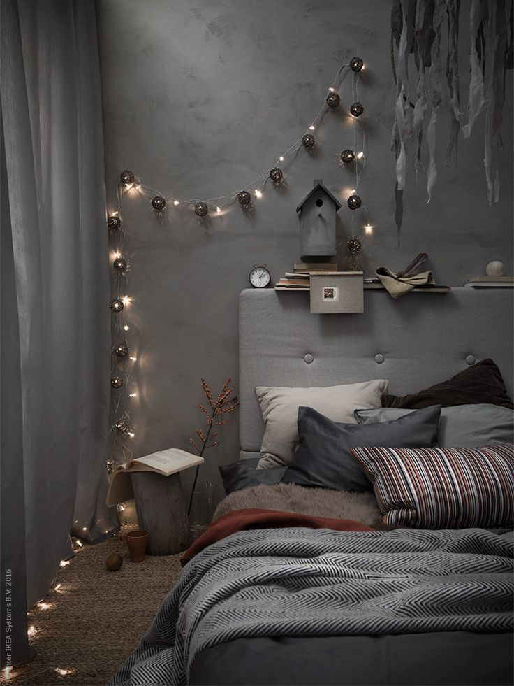 Grey bedroom Follow Gravity Home: Blog - Instagram - Pinterest - Facebook - Shop