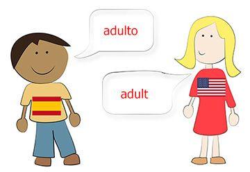 Aprende Ingles rapido y facil usando palabras que son exclusivamente Inglesas. Estas palabras no suenan igual que sus sinónimos en español ni tampoco siguen un patrón en particular.