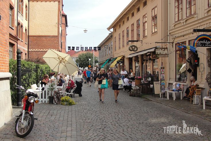 Haga of Sweden, charming district in Gothenburg