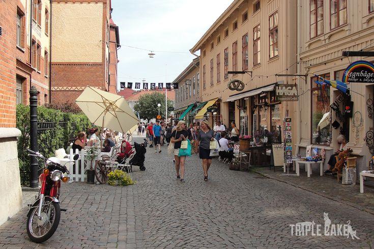 Haga of Sweden, charming district in Gothenburg