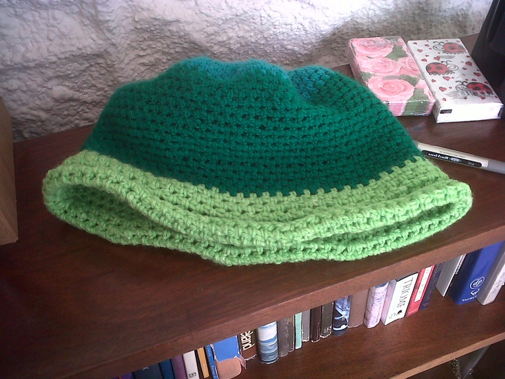 A 20's Hat for my friend... this was like the 2nd Project I finished...