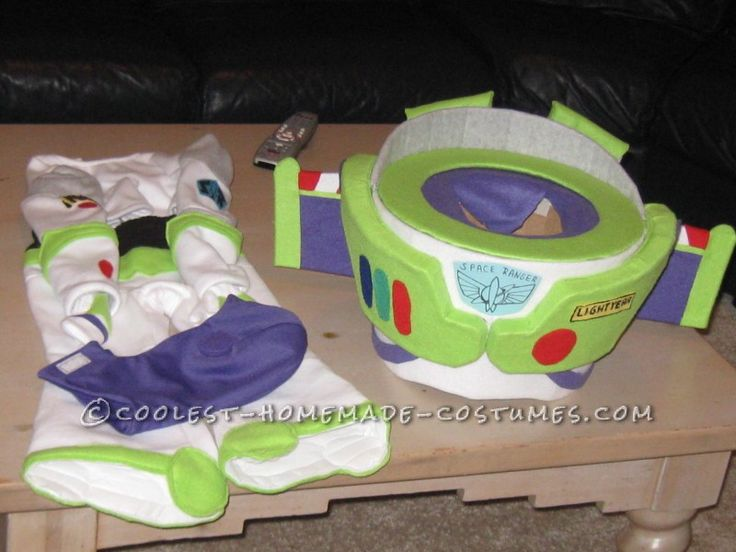 Cool Toddler DIY Halloween Costume: Buzz Lightyear Costume Like No Other…