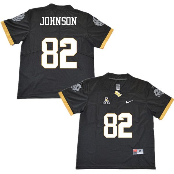 Men #82 Kenyon Johnson UCF Knights College Football Jerseys Sale ...