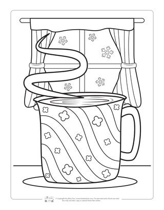 Winter Coloring Pages Boyama Pinterest Coloring Pages