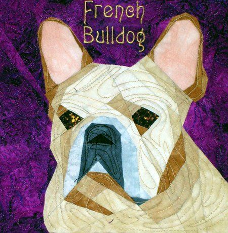 French Bulldog Quilt Pattern Crafts Pinterest