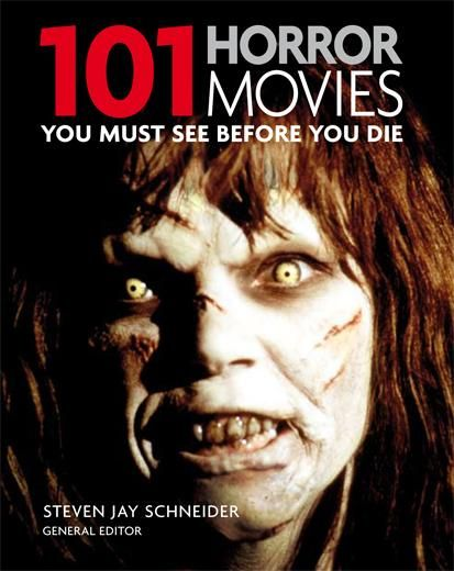 Horror movies, I've only seen 30 of these, i consider myself i was a film buff, i better get working on this list