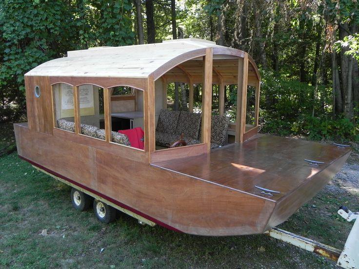Pin by Scott Ulrich on Shanty boats | Shanty boat, Boat plans, Boat