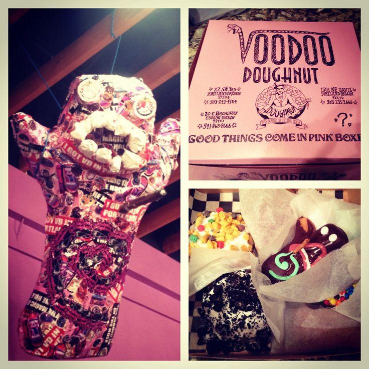 Voodoo doughnuts Portland & Eugene Oregon