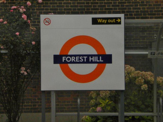 Forest Hill Railway Station (FOH) in Forest Hill, Greater London