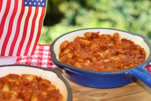 MOM'S EASY HEALTHY BAKED BEANS