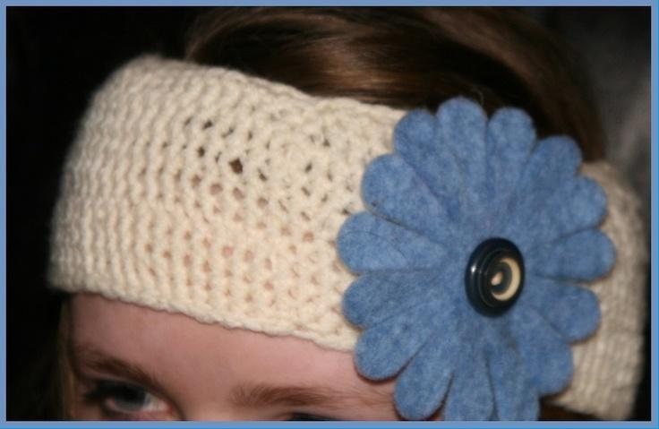 Super alternative to woolly hats but still keeps your ears warm. Just love crochet.