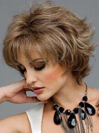 Graceful Short Wavy Synthetic Wigs