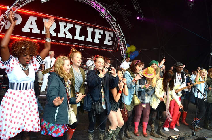 the #Parklife Festival in #Manchester, England