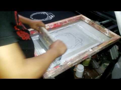 Attribute Cloth: Sablon Kaos Tangerang Selatan ( Pesanan Bapak Agun...