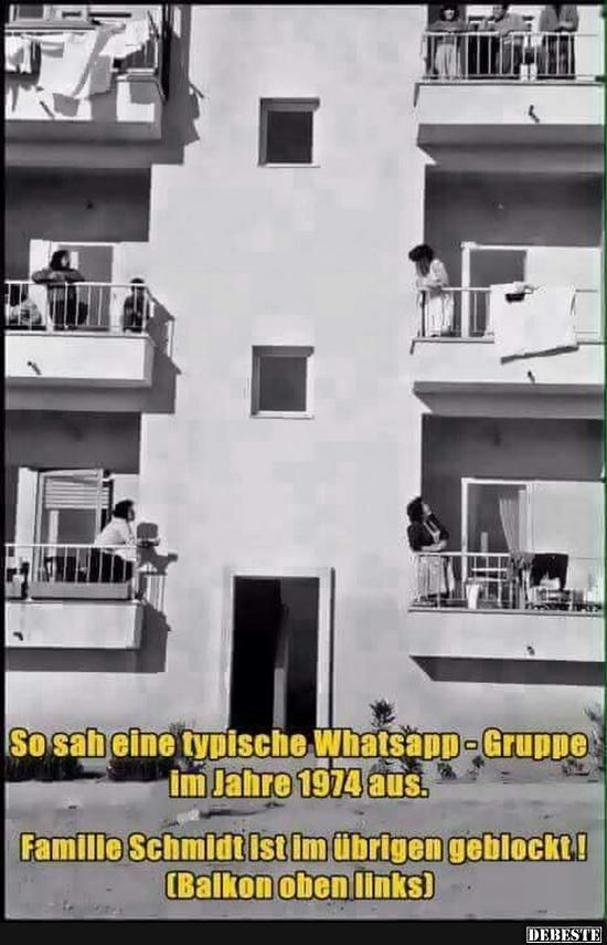So sah eine typische Whatsapp - Gruppe im Jahre 1974 aus.. | Lustige Bilder, Sprüche, Witze, echt lustig