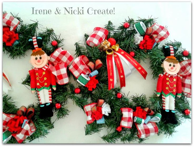 Irene & Nicki Create!  :                                      Nutcracker Wr...
