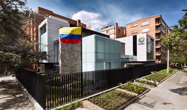 Embajada de Ecuador. Nueva sede en Bogotá, Colombia