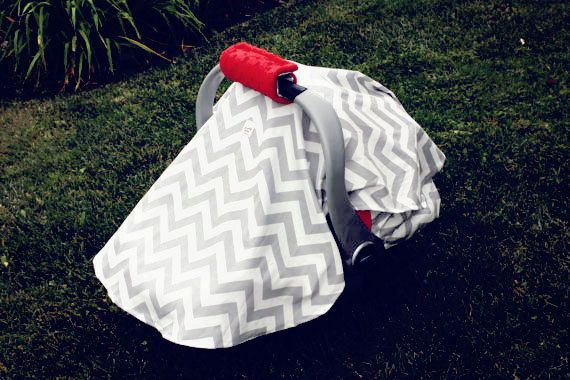 Baby Tent Cover with Padded Handle Cover by ChubbyBaby on Etsy, $40.00