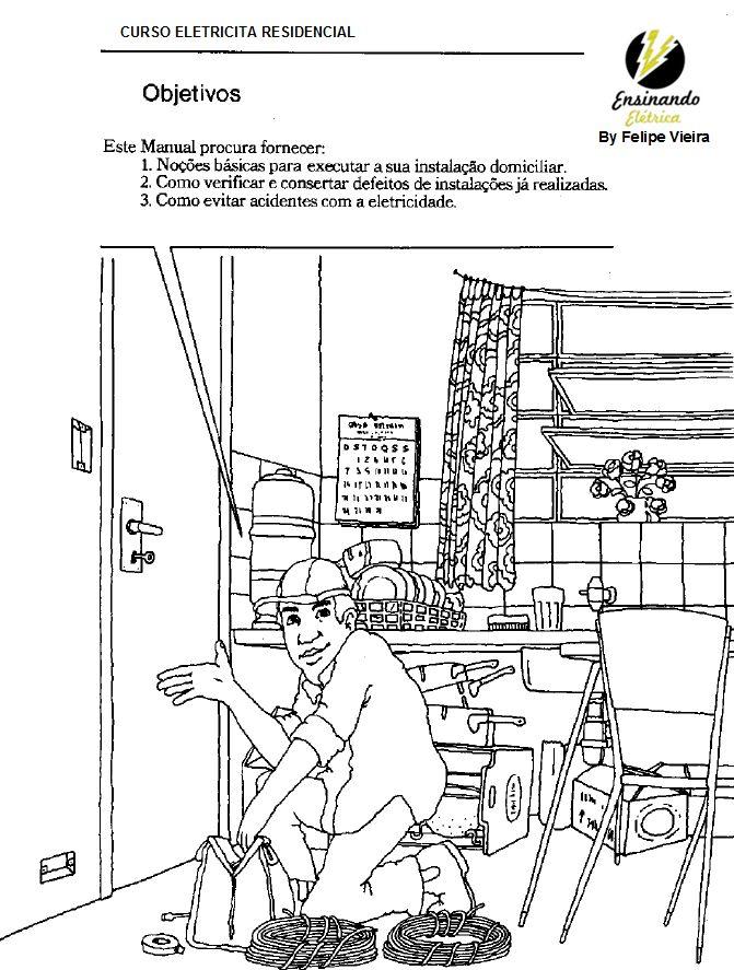 Planta elétrica residencial ~ Ensinando Elétrica