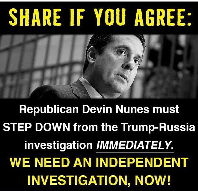 Republicans cannot be trusted to investigate anything concerning Trump and Russia! We need Independent Investigators who will be as Aggressive, Relentless and Ruthless as the Crooks on the Benghazi Investigation!!