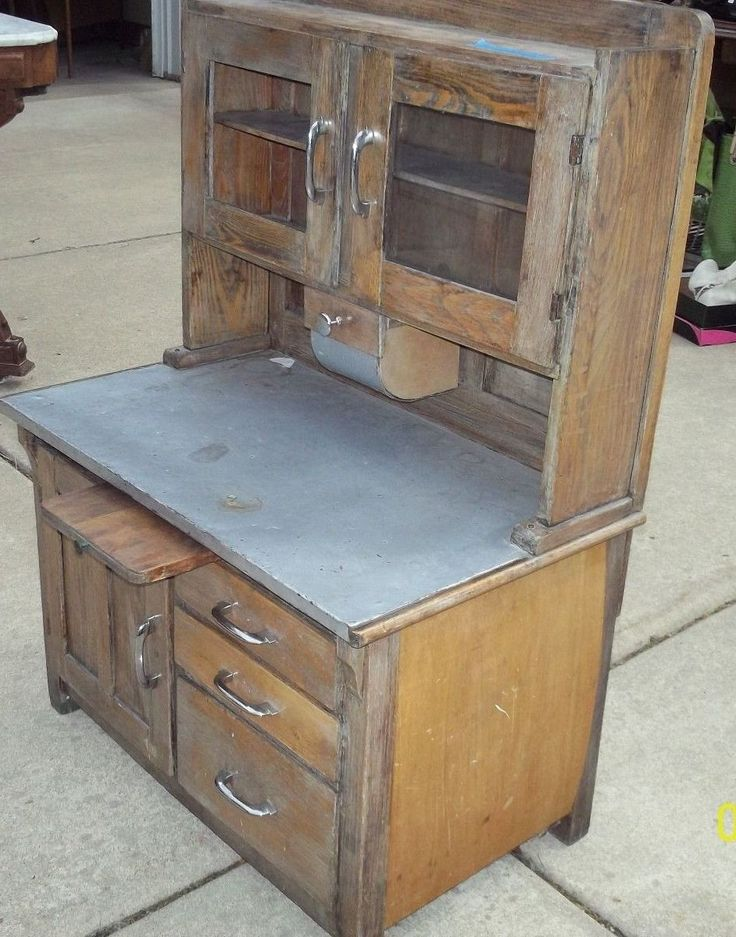32 best Old vintage child's kitchen cupboard images on ...