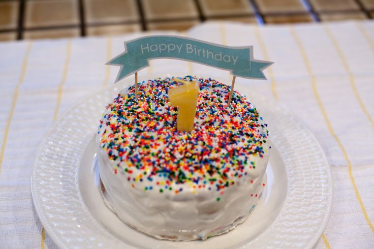 Baby's First (healthy & natural) Birthday Cake! — 9 Months & Beyond